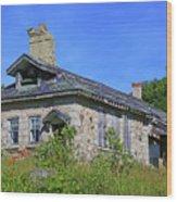 Cape Croker Schoolhouse, Ontario, Canada Wood Print