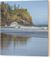 Cape Disappointment - Vertical Wood Print