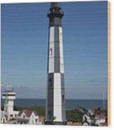 Cape Henry Lighthouse Wood Print