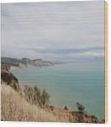 Cape Kidnappers Golf Course New Zealand Wood Print