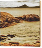 Esperance Bay P Wood Print