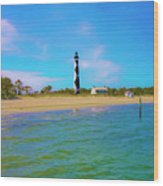 Cape Lookout 1 Wood Print by Betsy Knapp