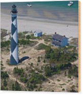 Cape Lookout 4 Wood Print