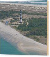 Cape Lookout 6 Wood Print