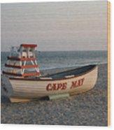 Cape May Calm Wood Print