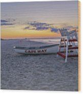 Cape May Mornings Wood Print