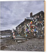 Cape Neddick Lobster Pound Wood Print
