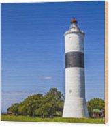 Cape Ottenby Light Wood Print