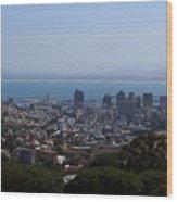 Cape Town Wood Print