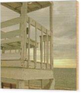 Cape Watch Wood Print