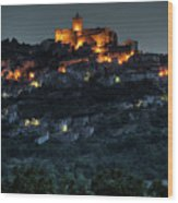 Capestrano Abruzzo Italy Wood Print