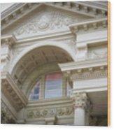 Capital Building Cheyenne Wyoming 01 Wood Print