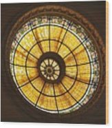 Capital One Bank Building Dome Wood Print
