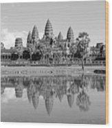Capital Temple Wood Print