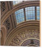 Capitol Architecture Wood Print