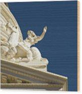 Capitol Frieze Sculpture Wood Print