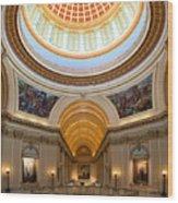 Capitol Interior II Wood Print