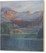 Capitol Peak Rocky Mountains Wood Print