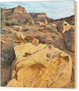 Capitol Reef Evening Wood Print
