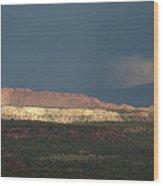 Capitol Reef Storm 0050 Wood Print