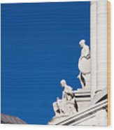 Capitol Statues - Madison Wisconsin-1 Wood Print