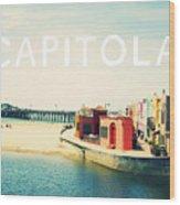 Capitola Wood Print