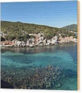 Capo Caccia Sardinia Wood Print