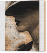 Capones Girl Wood Print