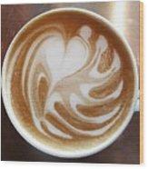 Cappuccino 2 Wood Print