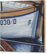 Capri Boats Wood Print