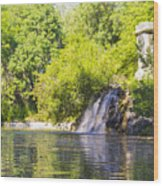 Capricho Waterfall Wood Print