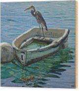 Capt. G. B. Heron Wood Print
