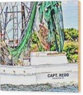 Capt. Redd Wood Print