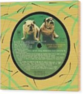 Captain And Tennille Greatest Hits Lp Label Wood Print