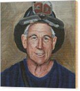 Captain E.j. Wood Print