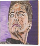 Captain Jack Harkness Wood Print