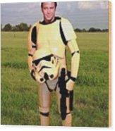 Captain James T Kirk Stormtrooper Wood Print