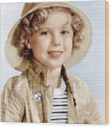 Captain January, Shirley Temple, 1936 Wood Print