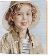 Captain January, Shirley Temple, 1936 Wood Print by Everett