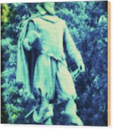 Captain John Smith - Jamestown Virginia Wood Print