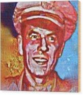 Captain Ronald Reagan Wood Print