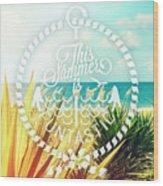 Captiva Island I Wood Print