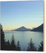 Captivating Howe Sound Wood Print