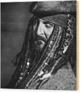 Capt'n Jack Wood Print