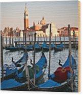Capturing Venice  Wood Print