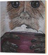 Capuchino Wood Print