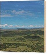 Capulin Panorama Wood Print