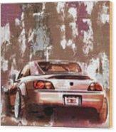 Car 001 Wood Print