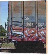 Car 243 Wood Print