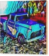 Car 5 Wood Print